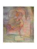 Dancer, 1932 Konst på metall av Paul Klee