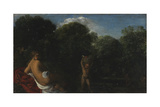 Venus and Cupid, 1600-05 Giclee Print by Adam Elsheimer