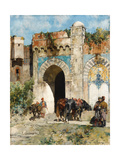 Watering the Horses, 1880 Giclee Print by Alberto Pasini