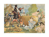 La Fut Dit a Pantagruel Qu'Il Refondoit Les Vieilles', 1902 Giclee Print by Albert Robida