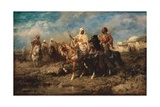 Arabs, Late 19th Century Giclee Print by Adolf Schreyer