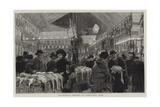 Leadenhall Market at Christmas Time Giclee Print by Adrien Emmanuel Marie