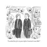 Cartoon Premium Giclee Print by Tom Toro