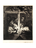 The Singers (Rhetoricians), C.1667 Giclee Print by Adriaen Jansz. Van Ostade