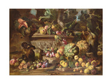 A Still Life of Fruit Giclee Print by Abraham Brueghel