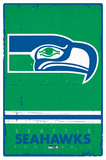 Seattle Seahawks - Retro Logo 15 Poster
