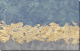 Gilded Fresco V Hand Embellished Canvas by Jennifer Goldberger