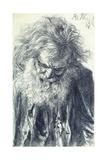 Portrait of an Old Man, 1884 Giclee Print by Adolph Friedrich Erdmann von Menzel
