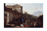 Landscape with a Goatherd, C.1650 Giclee Print by Adam Pynacker