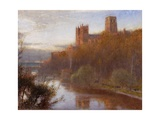 Durham Cathedral, 1910 Giclee Print by Albert Goodwin