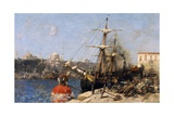 Golden Horn, 1876 Reproduction procédé giclée par Alberto Pasini