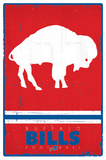 Buffalo Bills - Retro Logo 15 Posters