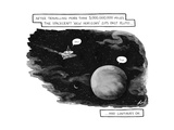 """After traveling more than 3,000,000,000 miles the spacecraft 'New Horizons…"""" - Cartoon Premium Giclee Print by Tom Toro"""
