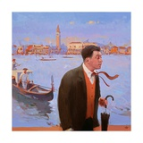 Return to San Giorgio, 2005 Giclee Print by Alan Kingsbury