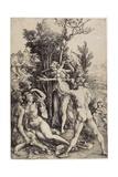 Hercules, C. 1499 Giclee Print by Albrecht Dürer