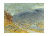 Mountain Mist, 1870 Giclee Print by Albert Goodwin