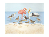 Seabird Summit Metal Print by Wendy Russell