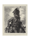 Hans Joachim Von Zieten, One of Frederick the Great's Marshals Giclee Print by Adolph Friedrich Erdmann von Menzel