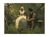 The Old, Old Story Giclee Print by Albert Neuhuys