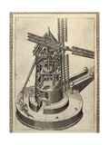 Windmill Giclee Print by Agostino Ramelli