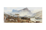 View Near Dolgelly Giclee Print by Aaron Edwin Penley