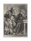 Russian Noble and Serfs Giclee Print by Adolphe Yvon