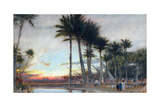 The Land of Egypt, 1913 Giclee Print by Albert Goodwin