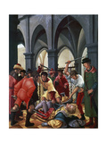 Martyrdom of St, Florian, 1516, by Albrecht Altdorfer (1480-1538), Germany, 16th Century Giclee Print by Albrecht Altdorfer