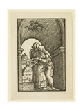 Joachim Embracing St. Anne Giclee Print by Albrecht Altdorfer