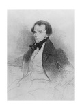 Prosper Mérimée, 1829 Giclee Print by Achille Deveria
