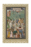 Emperor Jahangir with Holy Men in a Garden, C.1615 Giclee Print by Abu'l Hasan