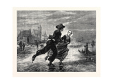 The International Exhibition: Winter in Zealand, 1862 Giclee Print by Adolf Alexander Dillens