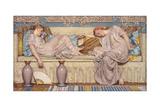 Beads, 1880 Giclee Print by Albert Joseph Moore