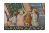 Detail from Emperor Jahangir with Holy Men in a Garden, C.1615 Giclee Print by Abu'l Hasan