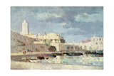 The Harbour at Algiers, 1876 Giclee Print by Albert-Charles Lebourg
