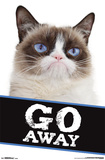 Grumpy Cat- Go Away Poster
