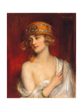A Young Beauty Giclee Print by Albert Lynch