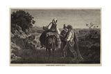 Spanish Beggars Giclee Print by Adolphe Pierre Leleux