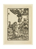 Angel Appearing to Joachim Giclee Print by Albrecht Altdorfer