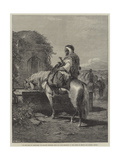 On the Road to Jerusalem Giclee Print by Adolf Schreyer