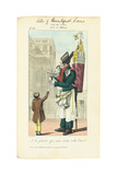Seller of Breakfast Cocoa, C. 1813 Giclee Print by Adrien Joly