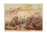 Battle of Magenta, Italy, 1859 Giclee Print by Adolphe Yvon