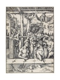 The Men's Bath, C. 1496-1497 Giclee Print by Albrecht Dürer