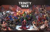 JLA- Trinity War Posters