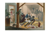 The Death of Uncle Tom Giclee Print by Adolphe Jean-baptiste Bayot