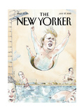 The New Yorker Cover - July 27, 2015 Regular Giclee Print by Barry Blitt