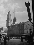 Faneuil Hall Metal Print by Walter Sanders