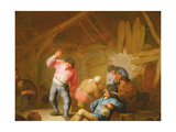 Peasants Merrymaking in an Inn, 1634 Giclee Print by Adriaen Jansz. Van Ostade