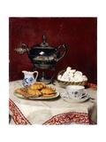Still Life: Tasteful Tea, 1897 Giclée-Druck von Albert Anker