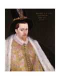 James VI of Scotland and I of England and Ireland (1566-1625), 1585 (Panel) Giclée-Druck von Adrian Vanson
